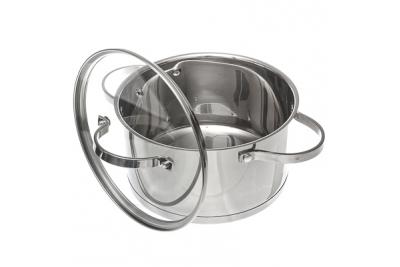 VETTA Berlin кастрюля со стеклянной крышкой 3,4 литра (подходит для индукционных плит)