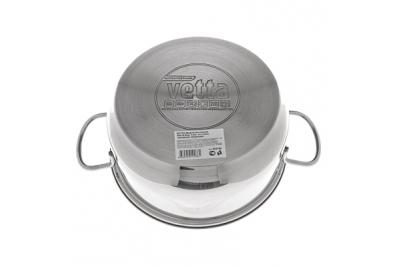 VETTA Madrid кастрюля со стеклянной крышкой 3,0 литра (подходит для индукционных плит)