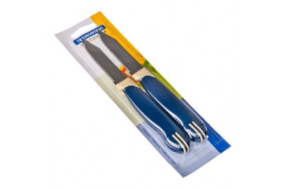"Tramontina Multicolor Нож овощной 3""  2 шт. 23528/213"