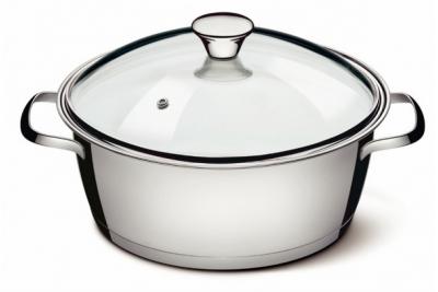Tramontina Allegra Кастрюля, 5,67 литра,  62654/244 (подходит для индукционных плит)