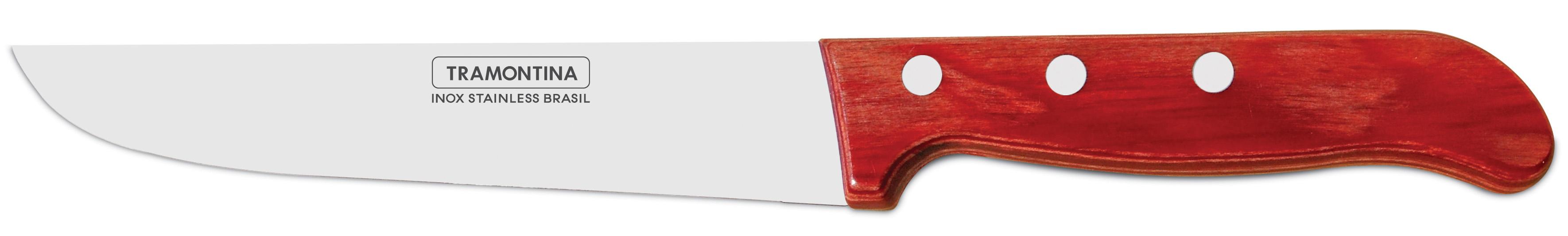 "Tramontina Polywood Нож кухонный 7"" 21127/077"