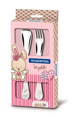 Tramontina Le Petit Детский набор столовых приборов, 66973/015