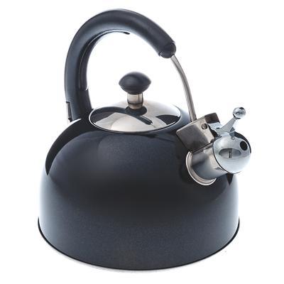 VETTA Чайник со свистком, 2,5 л. (черный)