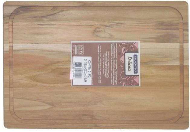 Tramontina TEAK Доска разделочная 40x28x1.5 см. 10028/070