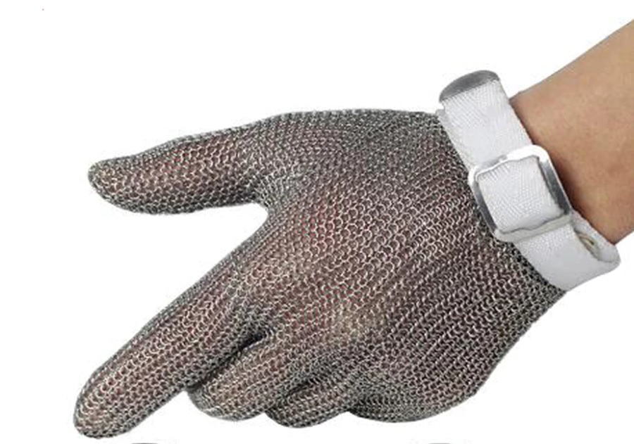 Кольчужная перчатка из нержавеющей стали (размер М)