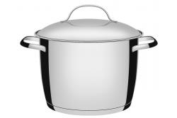 Tramontina Allegra Кастрюля, 7.5 литра, 62655/240 (подходит для индукционных плит)