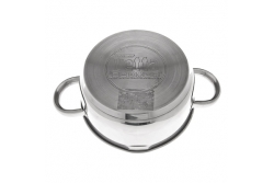 VETTA Paris кастрюля со стеклянной крышкой 2.4 литра (подходит для индукционных плит)