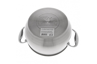 VETTA Milano кастрюля со стеклянной крышкой 2,6 литра (подходит для индукционных плит)