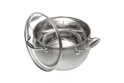VETTA Milano кастрюля со стеклянной крышкой 3,6 литра (подходит для индукционных плит)