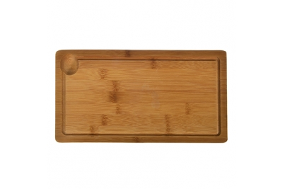 VETTA Доска для подачи бамбуковая с выемкой 32x17x2