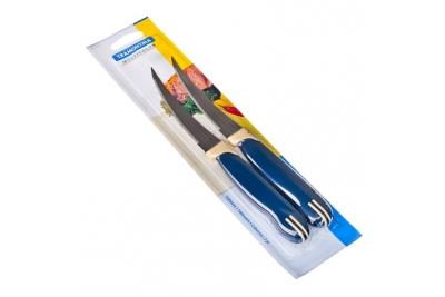 "Tramontina Multicolor Нож для томатов 5""  2 шт.  23512/215"