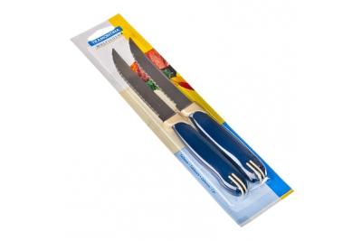 "Tramontina Multicolor Нож для мяса 5"", 2 шт. 23529/215"