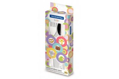 Tramontina Baby Детский набор столовых приборов, 66970/030