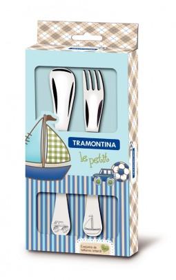 Tramontina Le Petit Детский набор столовых приборов, 66973/010