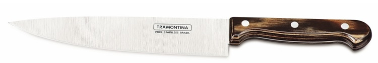 "Tramontina Polywood Нож Шеф-Повара 8"" 21131/198 коричневый"
