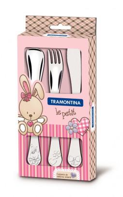 Tramontina Le Petit Детский набор столовых приборов, 66973/005