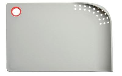 SATOSHI Доска разделочная со сливом 35х25 см. (пластик)