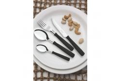 Tramontina New Kolor Ножи для стейка  3 шт (черные) 23160/304