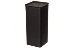 Satoshi Подставка для ножей (черная, квадратная)