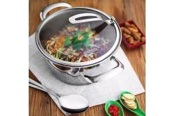Tramontina Ventura Набор посуды 3 пр. 65360/454 (подходит для индукционных плит)