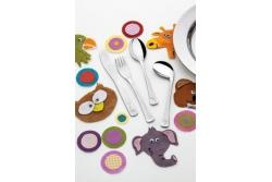 Tramontina Baby Детский набор столовых приборов, 66970/010